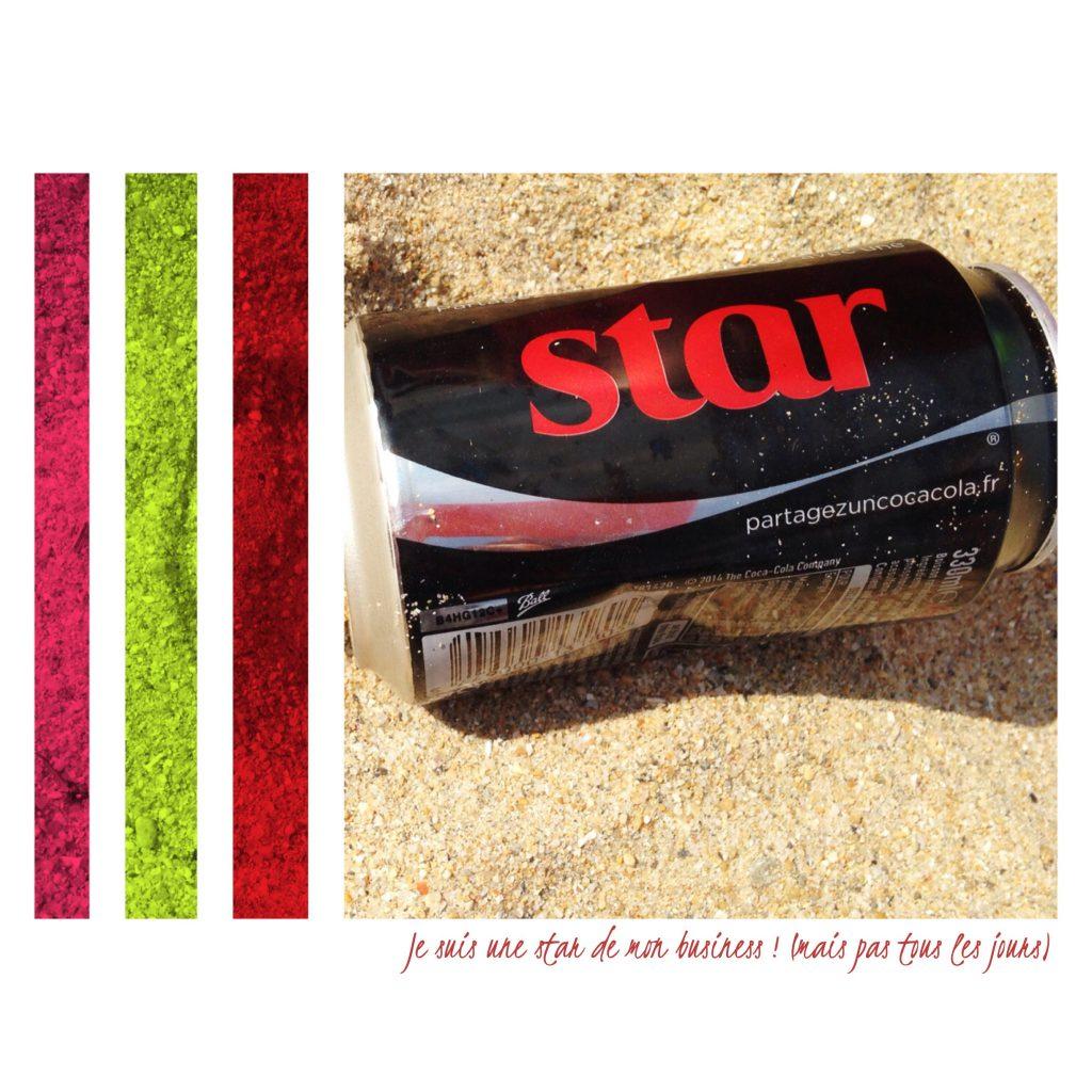 star on the beach